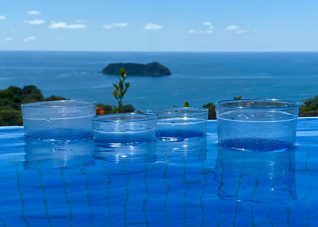 Manuel Antonio Poolside Ocean View to Villa Roca